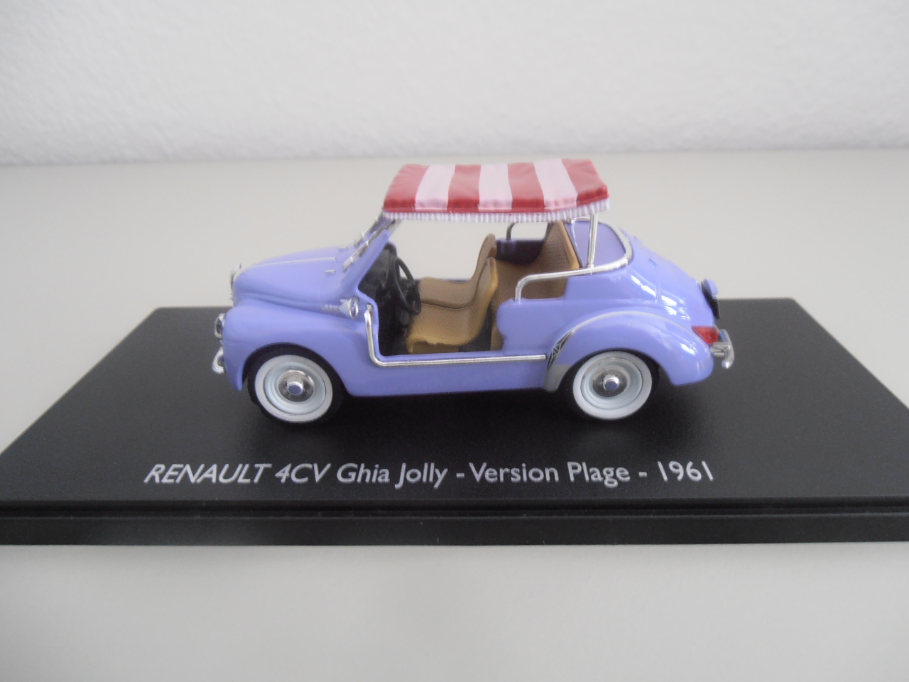 Renault 4cv Ghia Jolly Version Plage 1961 Eligor 143
